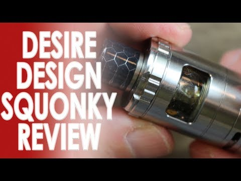 video Desire Squonky Bottom Fed Sub-ohm Tank