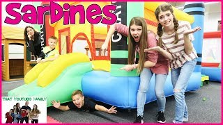 SARDiNES Hide And Seek In A TINY TOWN (Family Favorite) / That YouTub3 Family | Family Channel
