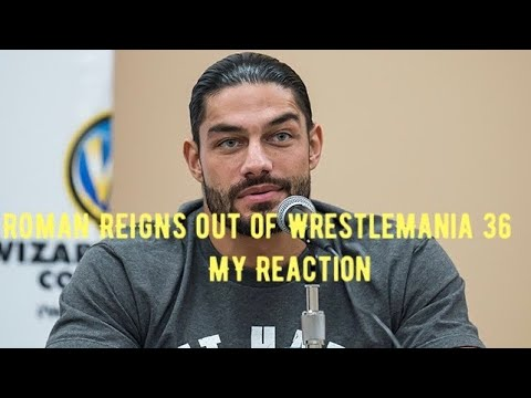 Roman Reigns Reportedly out of wrestlemania 36 Match with Goldberg Reaction (2020)
