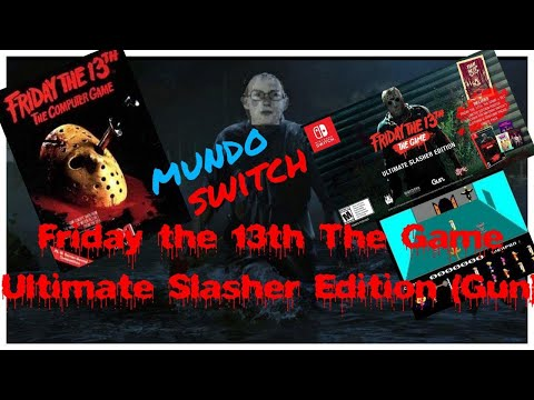 Mundo Switch: Friday The 13Th The Game - Ultimate Slasher Edition (Gun Media) + Gameplay PC- Steam