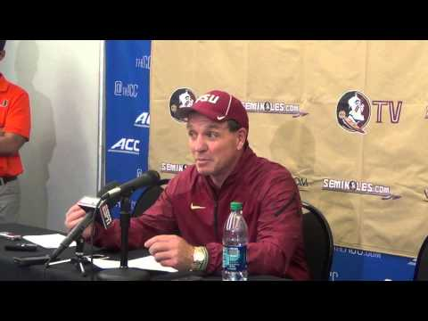 Jimbo Fisher after Florida State over Miami