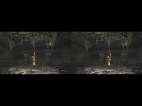 YT3D - Tomb Raider Anniversary, Caves (iz3d driver)