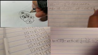Theme Songs played by Pencil Compilation + Math Equations(Cantina Theme, Harry Potter Theme & More)