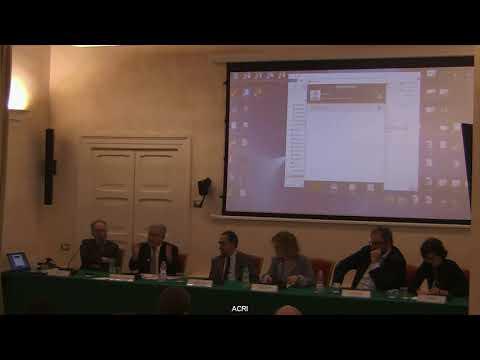 LE REGOLE DELLO SPETTACOLO TRA CULTURA ED ECONOMIA 3/6-Seminario Acri-AEDON - Roma, 25 gennaio 2019