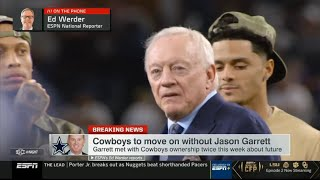 Jerry Jones FIRES Jason Garrett As Dallas Cowboys Head Coach!