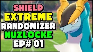 Route 1's SECRET LEGENDARY - Pokemon Sword and Shield Extreme Randomizer Nuzlocke Episode 1