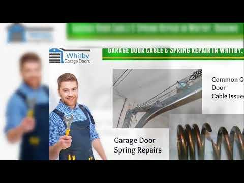 Garage Door Repair Whitby & Oshawa