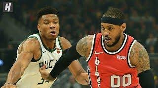 Portland Trail Blazers vs Milwaukee Bucks - Full Game Highlights | November 21 | 2019-20 NBA Season