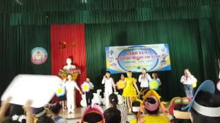 Thi an toàn giao thông trường tiểu học Đông Hải 1