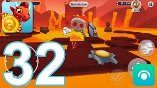 Dragon Land - Gameplay Walkthrough Part 32 - Episode 10: Levels 6-10, Boss (iOS, Android)