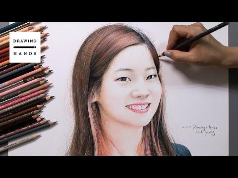 Speed Drawing TWICE - Dahyun [Drawing Hands]