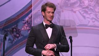 Andrew Garfield wins Best Actor at the Evening Standard Theatre Awards