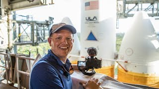 UP CLOSE Delta IV Heavy Launch Pad Tour (Tory Bruno CEO of ULA) - Smarter Every Day