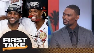 Chris Bosh on evolution of LeBron James: I'm amazed by what he can do | First Take | ESPN