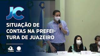 Situação de contas na prefeitura de Juazeiro do Norte