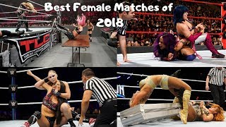 WWE Top 15 : Best Female Matches of 2018 (Subs choice)