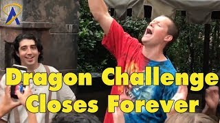 Dragon Challenge Closed in The Wizarding World of Harry Potter at Universal Orlando