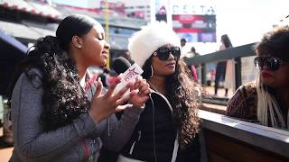 The Mothers of Takeoff & Quavo Interview With MiAsia Symone At The #CelebritySweat Game