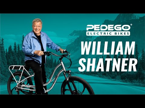 William Shatner - More Fun Than... | Pedego Electric Bikes