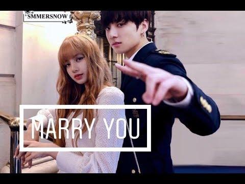 🕊Lizkook🕊 Lisa (blackpink) & Jungkook (bts) • marry you • [fmv]