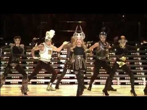 Madonna Incredible Half Time Show (Super Bowl 2012) HD