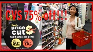 CVS 75% off MAKEUP CLEARANCE!