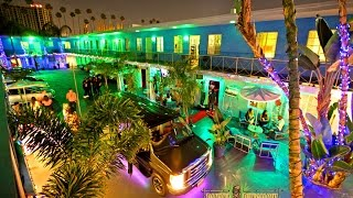 Tour the Banana Bungalow Hollywood Hostel in Los Angeles !