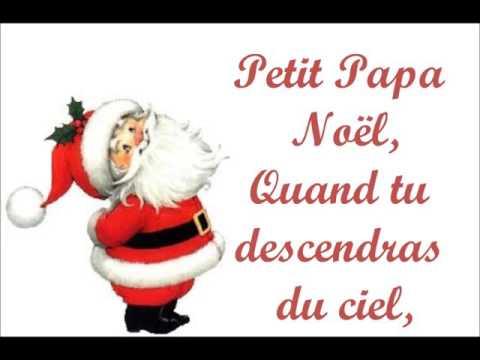 Chant - Petit Papa Noël (4A)