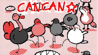 French CanCan ! Animation