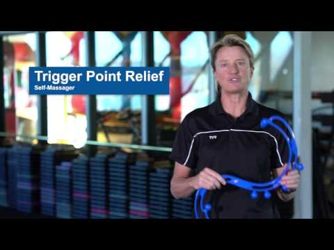 BackJoy - Trigger Point Relief Self-Massager Full Tutorial