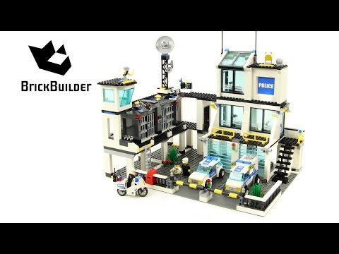 Lego City Police Headquarters Speed Build