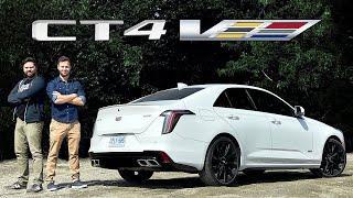 Cadillac CT4-V Quick Review // Four-Door Camaro...Sort Of