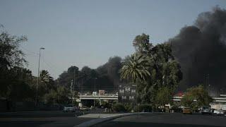 العراق: تم منع الحريق من إلتهام صناديق الإقتراع المهمة     -