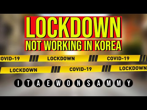 MY WEEKLY COVID UPDATE - CORONA VIRUS UPDATE - LOCKDOWN NOT WORKING IN KOREA!