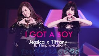 I GOT A BOY  - JETI (Jessica & Tiffany SNSD) Improvisation