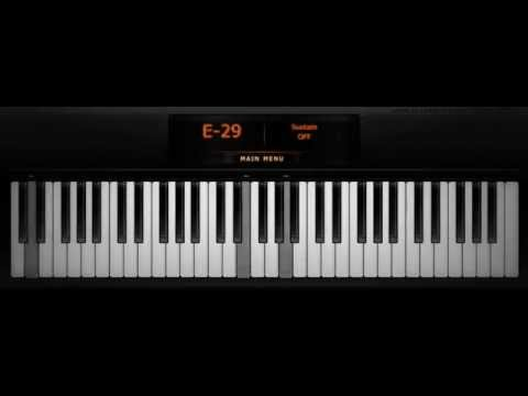 Guns N' Roses - November Rain intro ( Virtual Piano )
