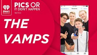 The Vamps Show Embarrassing Photos From Their Personal Phones! | Pics Or It Didn't Happen