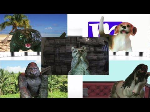 Debate Part 1 of 4   President of the Jungle 2017   MMNN Newsbreak   Many Miniatures Theater