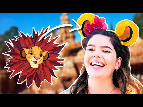 5 Styles of Disney Bounding & DIY Mickey Ears (The Lion King, Toy Story, and MORE)