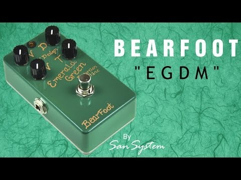 Bearfoot EGDM - Emerald Green Distortion Machine