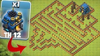 """TOWN HALL 12 MAZE BASE!! """"Clash Of Clans"""" NEW UPDATE!!"""