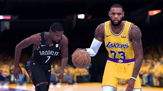 Brooklyn Nets vs. Los Angeles Lakers - 2020 NBA Finals! - Full Gameplay