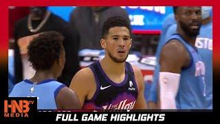Phoenix Suns vs Houston Rockets 1.20.21   Full Highlights