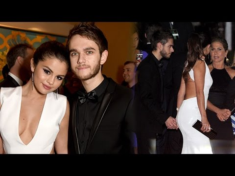 Selena Gomez & Zedd Holding Hands at Golden Globes Party