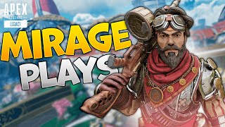 The most insane Mirage gameplay you'll watch today - APEX LEGENDS