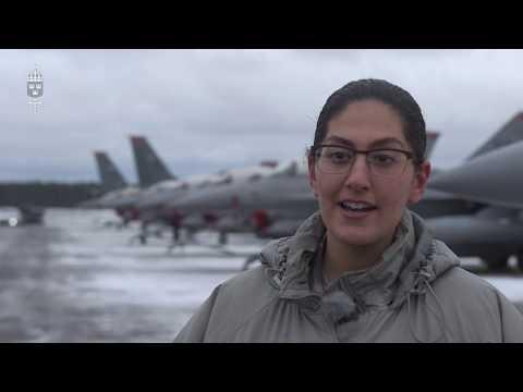 Värdlandsstöd för flyg under Trident Juncture 18