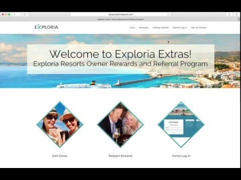 Exploria Extras: How to log-in to the Eexploria Resorts Owner Portal