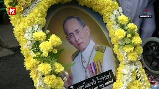 Thailand marks 1st anniversary of late king's death