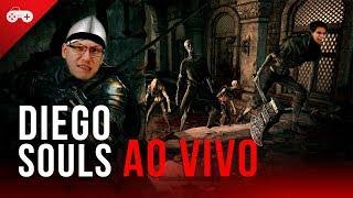 DiegoSouls AO VIVO: vamos continuar nossa saga em Dark Souls no gameplay de hoje!