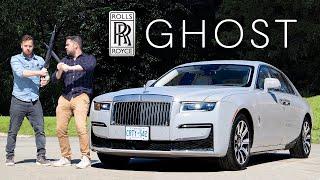 2021 Rolls-Royce Ghost Review // $400,000 Baby Phantom